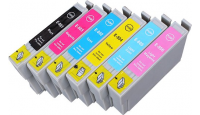 PACK T0807  COMPATIBLE XL EPSON  6 x 19 ML