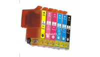 PACK T2438 XL ELEPHANT COMPATIBLE EPSON 6 x 12 ML