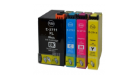 PACK T27 XL  REVEIL COMPATIBLE EPSON 32 ML + 3 x 18 ML