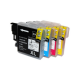 PACK LC970/LC985/LC1100 XL COMPATIBLE BROTHER