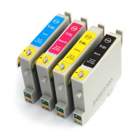 PACK T0555  COMPATIBLE EPSON  4 x 18 ML